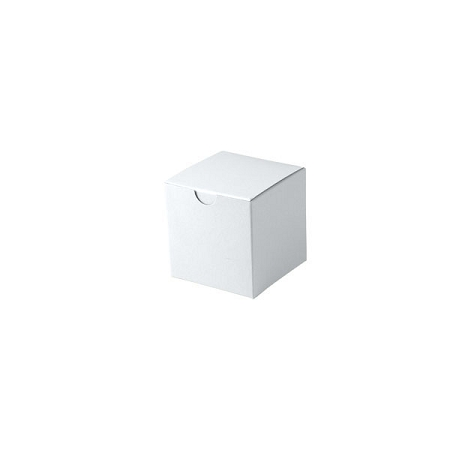 White Gloss Gift Boxes 3x3x3