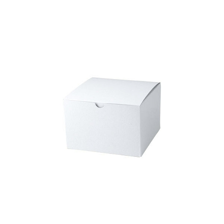 White Gloss Gift Boxes 6x6x4