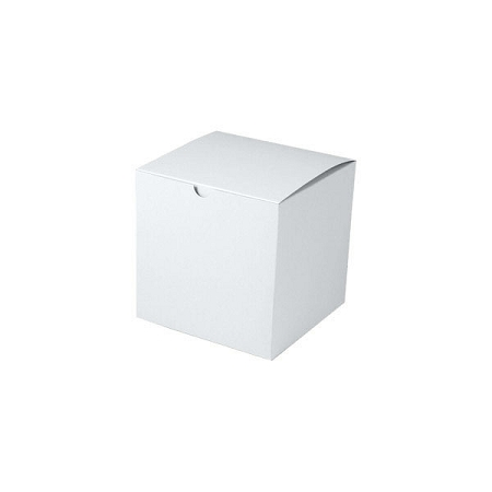 White Gloss Gift Boxes 6x6x6