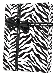 Zebra Stripes Wrapping Paper