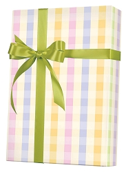Pastel Plaid gift Wrapping Paper