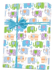 Baby Elephants gift Wrapping Paper