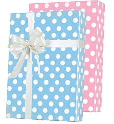 Baby Dots Reversible Wrapping Paper