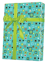 Hip To Be Square Wrapping Paper