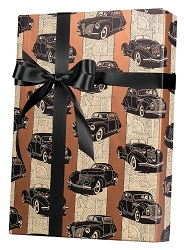Classic Cars Wrapping Paper
