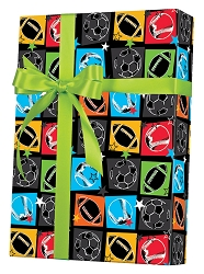 Sports Fanatic Wrapping Paper