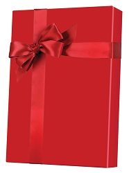 Red Ultra Gloss Wrapping Paper
