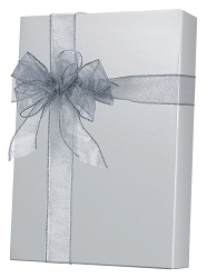 Silver Ultra Gloss Wrapping Paper