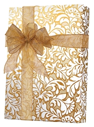 Damask Blooms Wrapping Paper