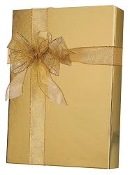 Gold Metallic Metallized Wrapping Paper