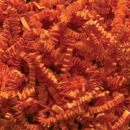 Crinkle Cut Paper 10 lbs. Orange