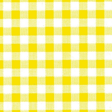 Pale Yellow Gingham