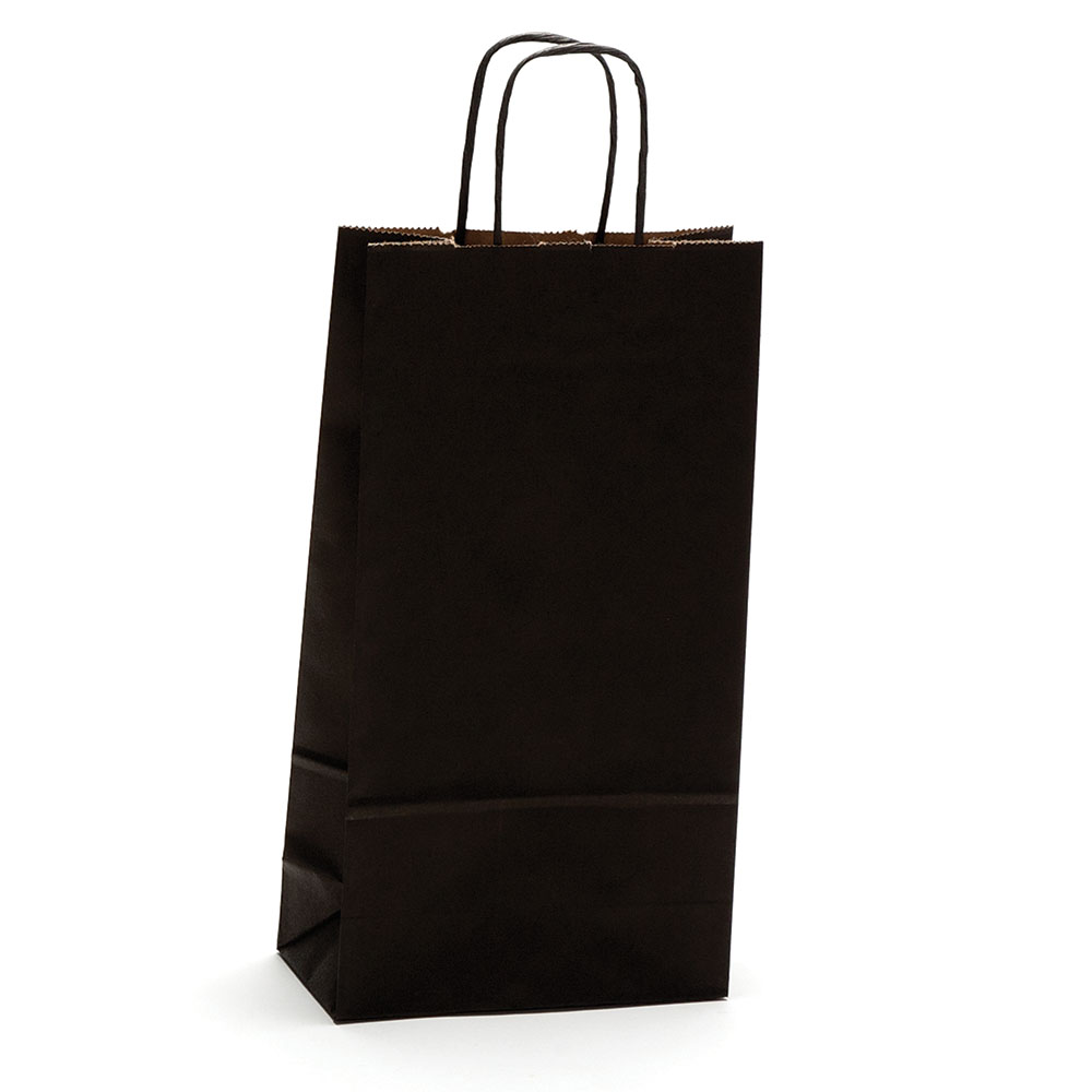 Double Bottle Wine Shopping Bag 6.5x3.5x13