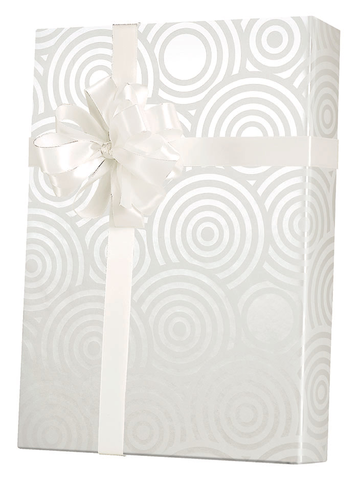 Pearl Ripples Wrapping Paper