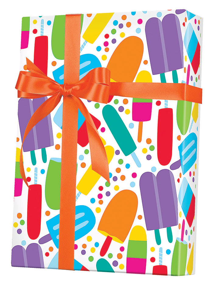 Popsicles Wrapping Paper
