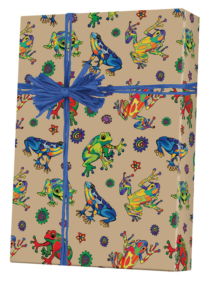 Hop To It/Kraft Wrapping Paper