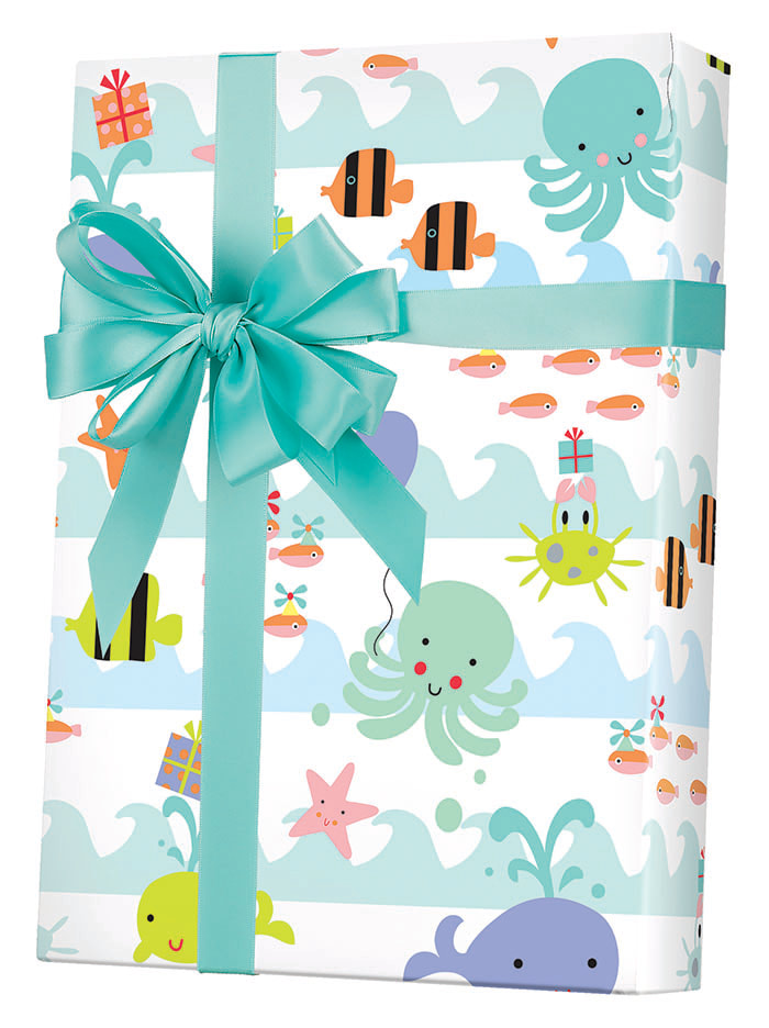 Sea Babies gift Wrapping Paper