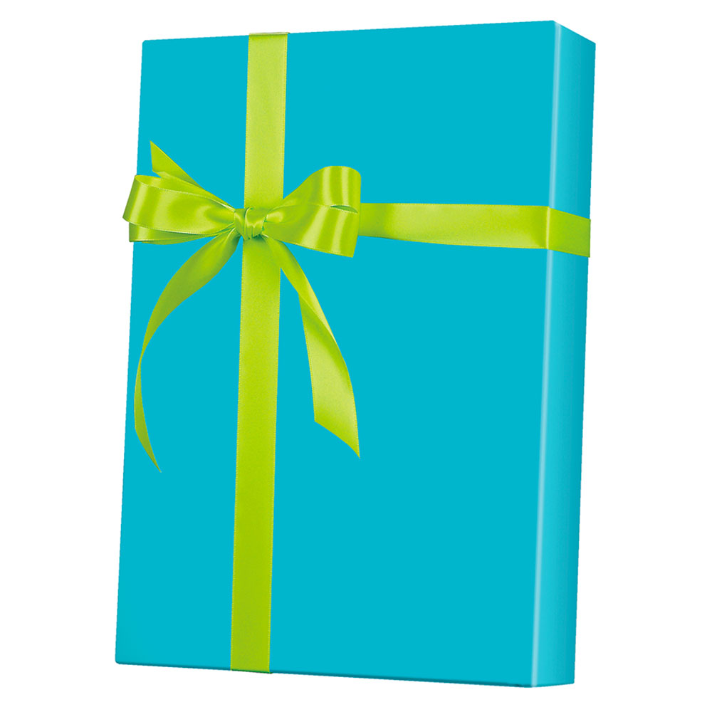 Turquoise Ultra Gloss Wrapping Paper