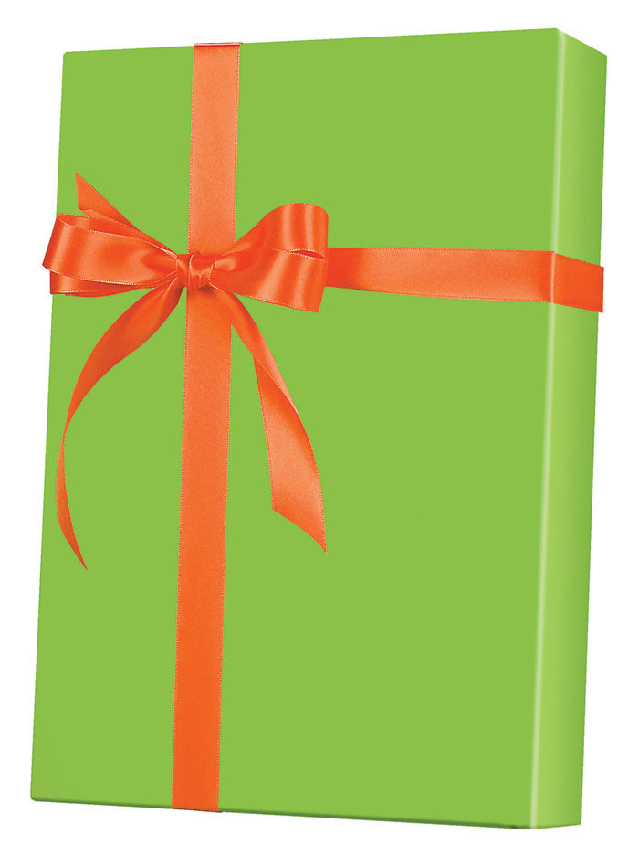 Lime Ultra Gloss Wrapping Paper