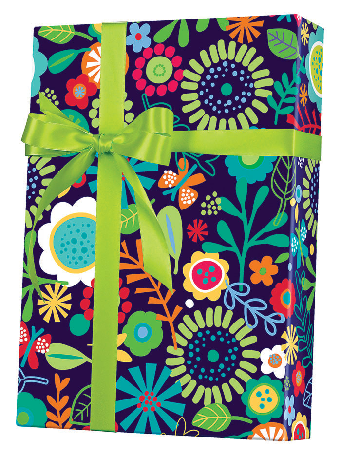Flower Fun Wrapping Paper