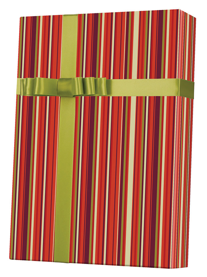 Earth Stripe Wrapping Paper