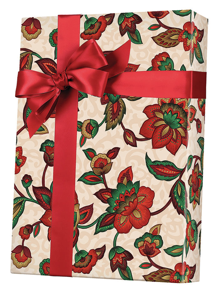 Earth Bloom Wrapping Paper