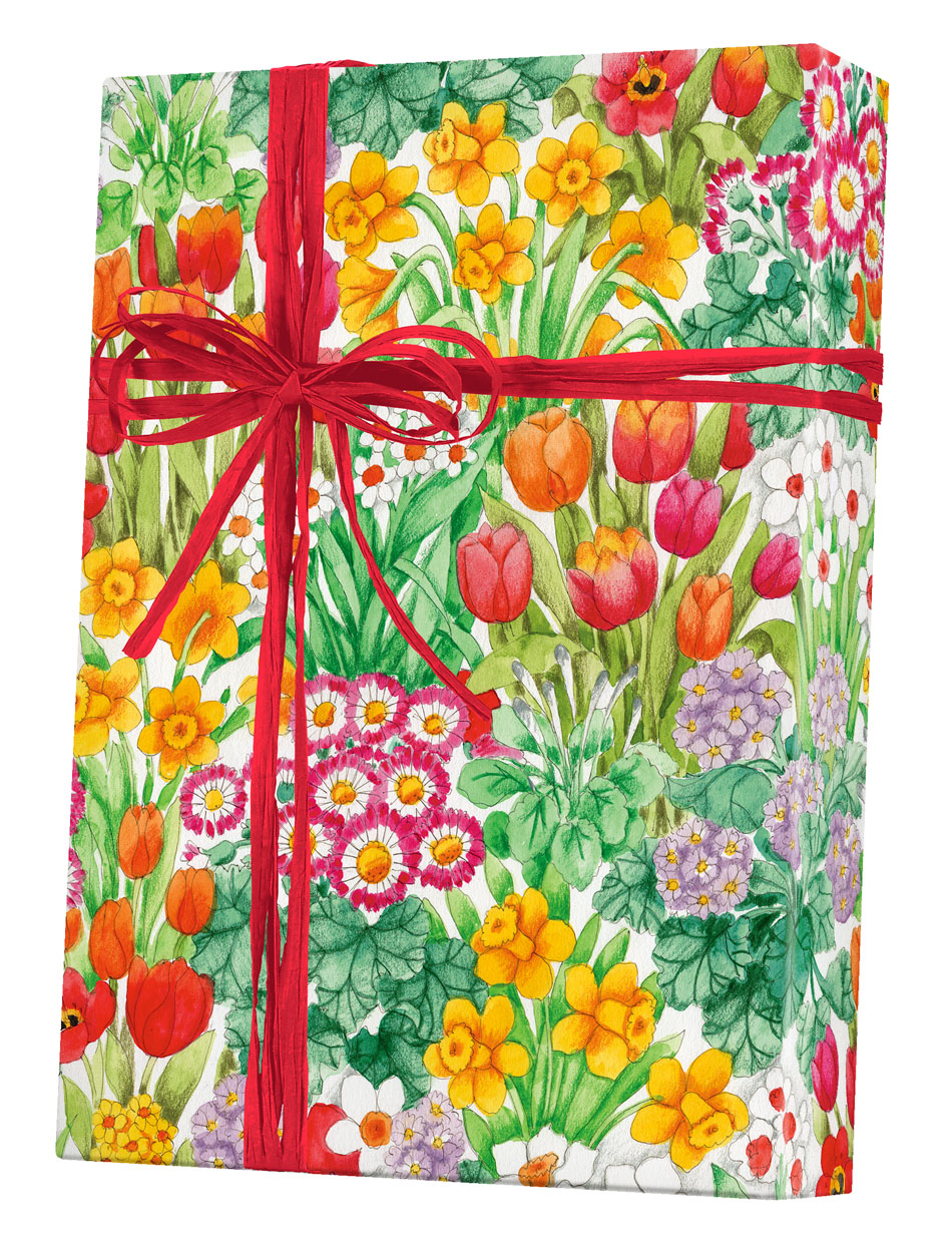 The Cutting Garden Wrapping Paper