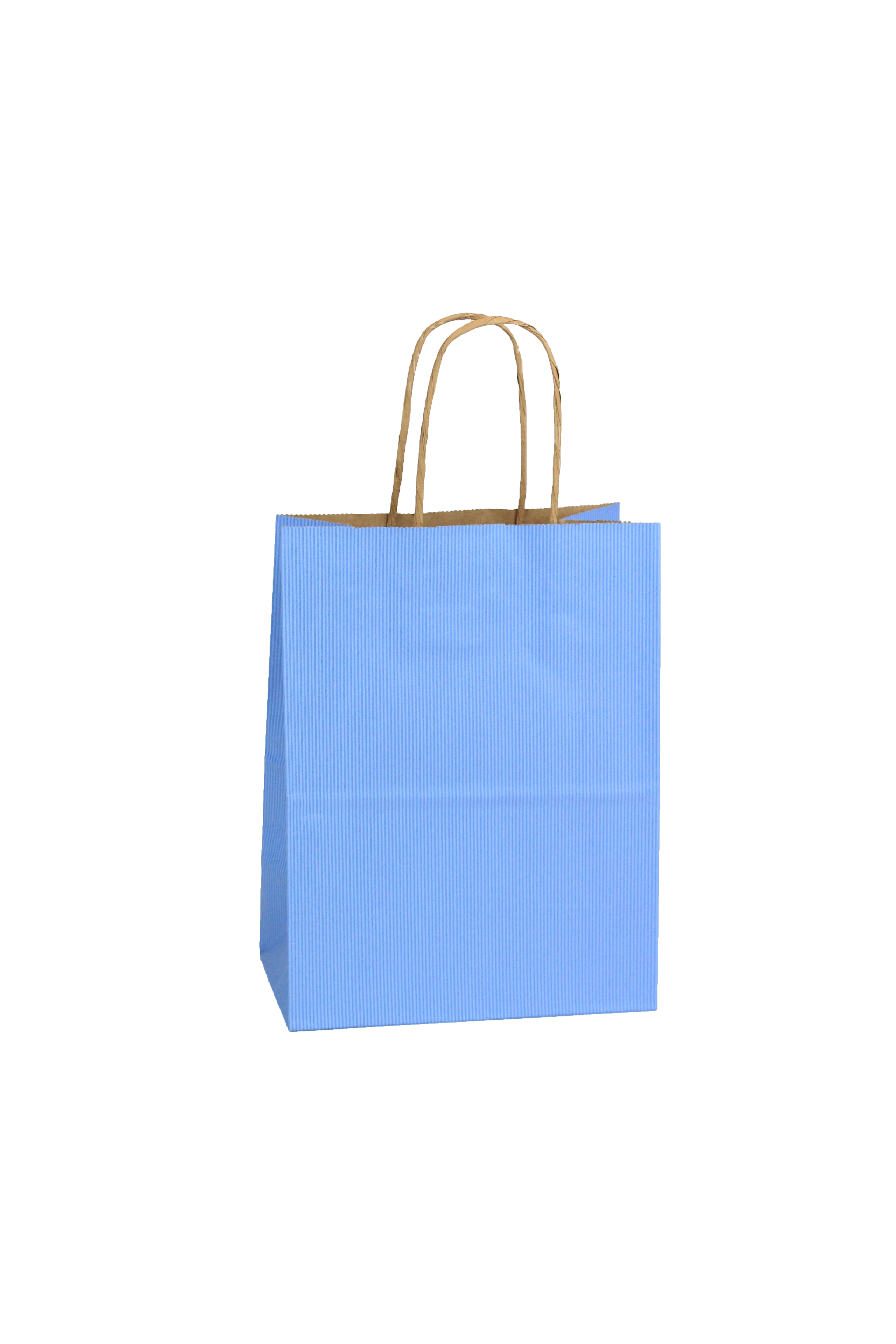 Shopping Bag SS French Blue 5.5x3.25x8.375