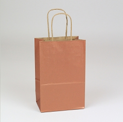 Shopping Bag Copper Penny 5.5x3.25x8.375