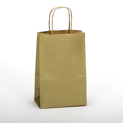 Shopping Bag Gold Rush 5.5x3.25x8.375