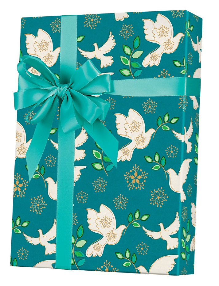 Holiday Peace Wrapping Paper