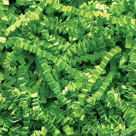 Crinkle Cut Paper 40 lb. Lime Green
