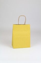Shopping Bag SS Yellow 8x4.75x10.5