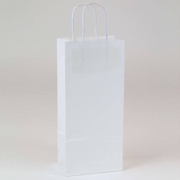 Single Bottle Wine Shopping Bag 5.5x3.25x13
