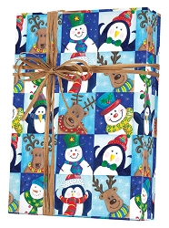 Winter Fun Wrapping Paper