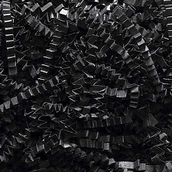 Crinkle Cut Paper 8 oz (1/2 lb) Black