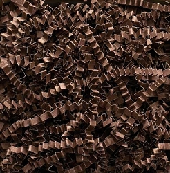 Crinkle Cut Paper 10 lbs. Chocolate