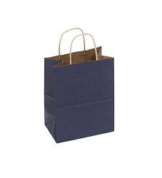 Cub Shopping Bag Navy Blue 8x5x10