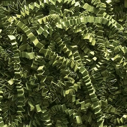 Crinkle Cut Paper 10 lbs. Olive Green