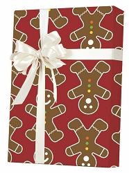 Gingerbread Men Gift Wrapping Paper
