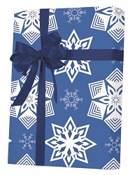 Paper Snowflake Gift Wrapping Paper
