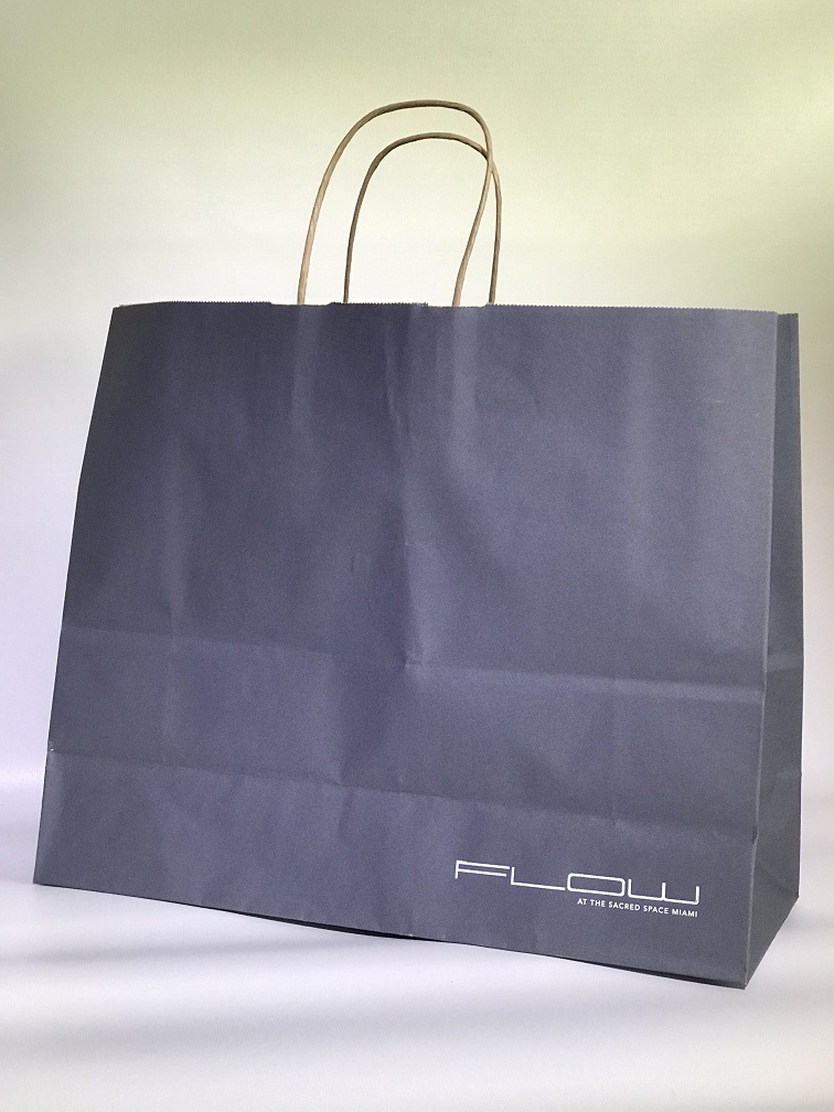 Vogue Shopping Bag Charcoal 16x6x13