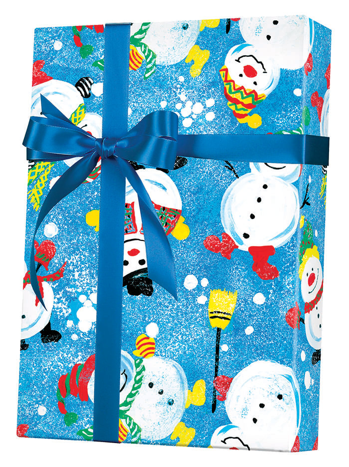 Frosty Friends Wrapping Paper
