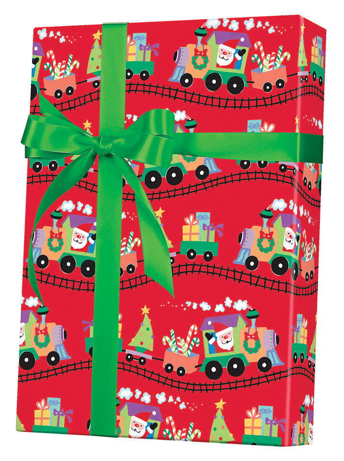 Santa Express Wrapping Paper