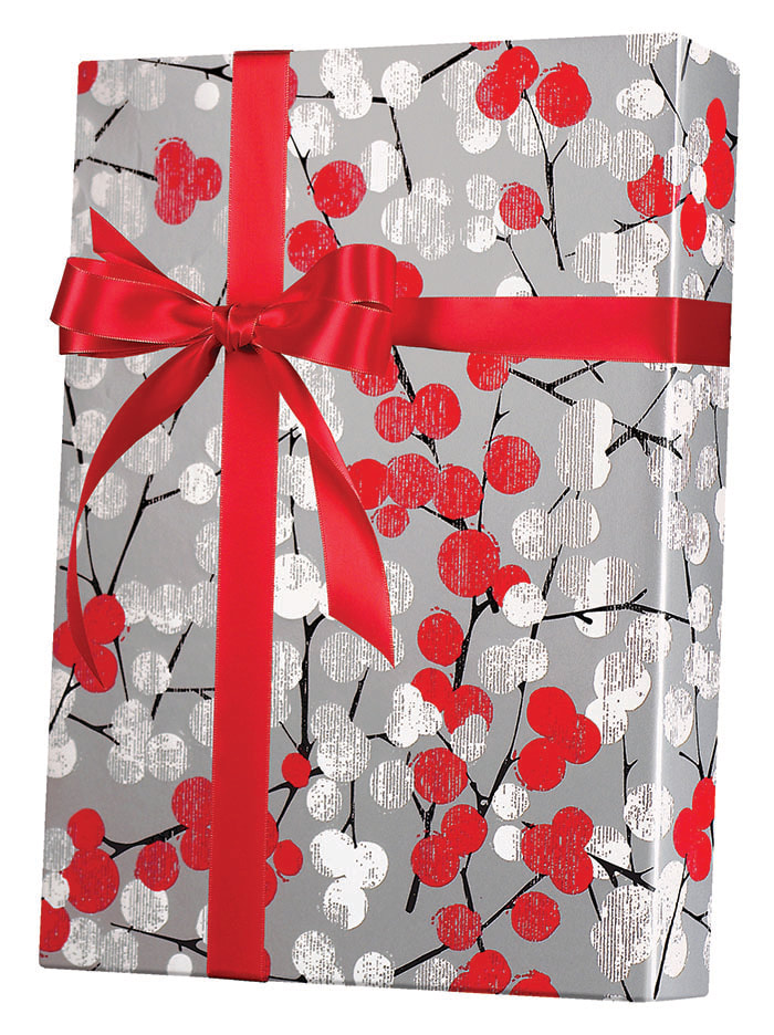 Winter Branches Wrapping Paper