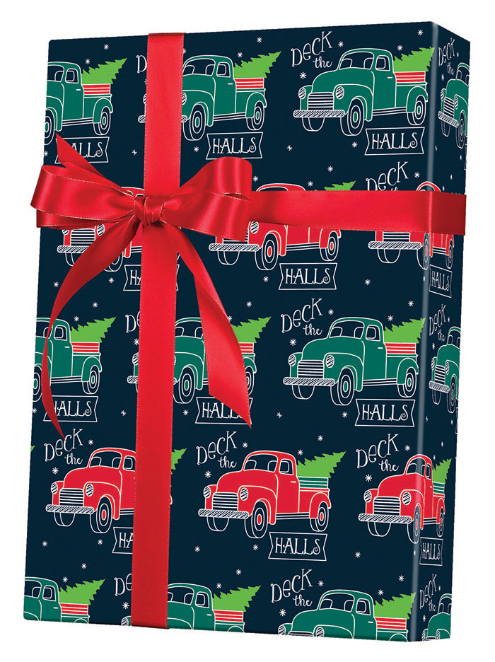 Deck the Halls Wrapping Paper