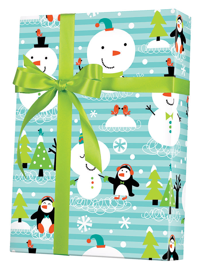 Chilly Chums Wrapping Paper