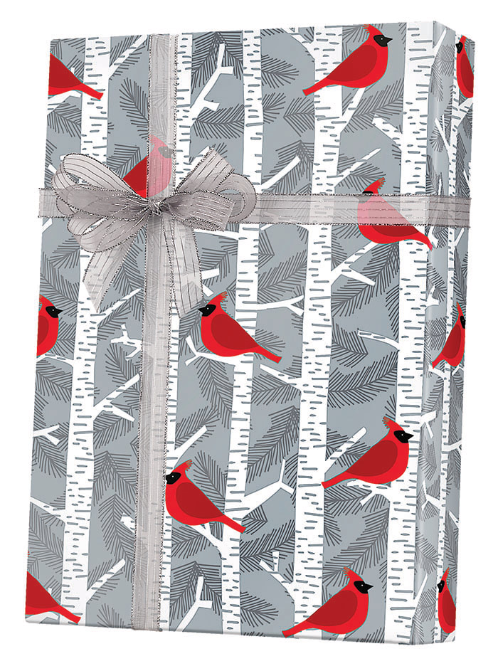 Birchwoods Wrapping Paper
