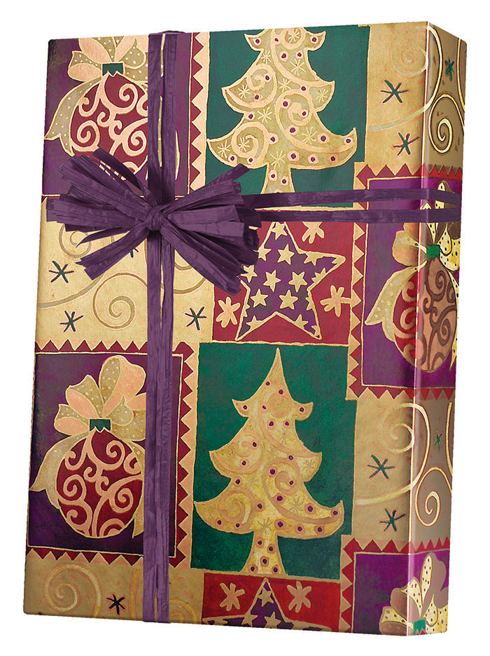 Elegant Christmas Wrapping Paper
