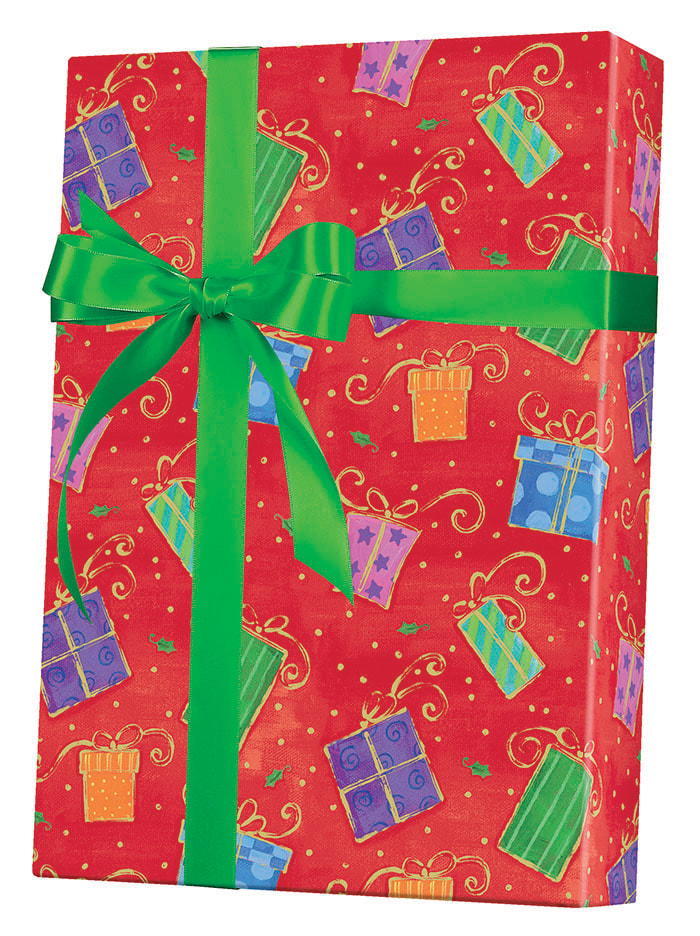 Glamorous Gifts Wrapping Paper